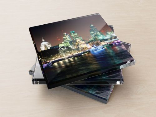 St Paul's Cathedral and the City of London - Glass Coasters